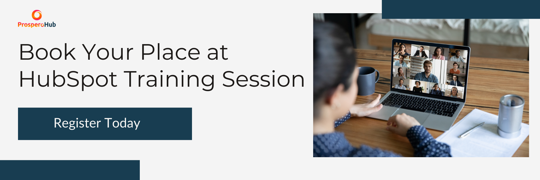 CTA - Book Your Place at  HubSpot Training Session