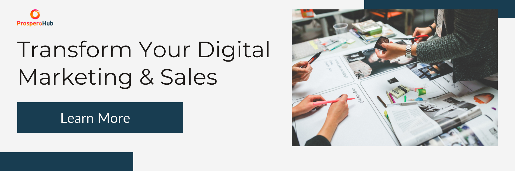CTA - Transform Digital Marketing & sales