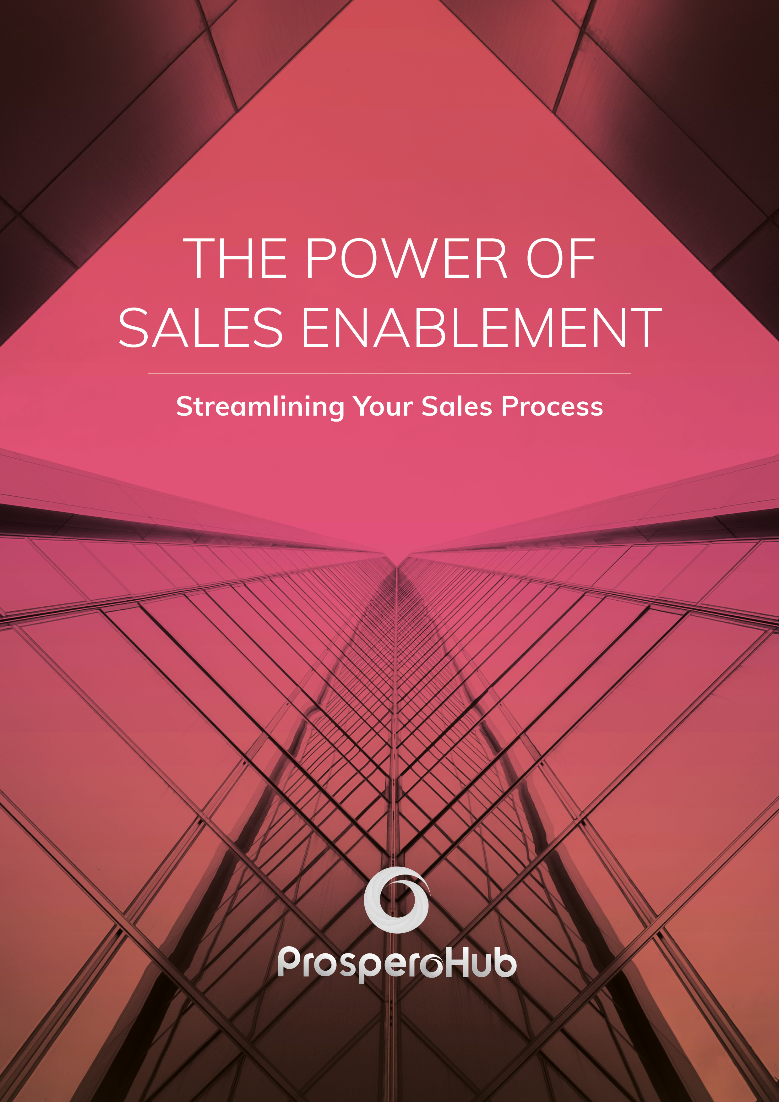 ProsperoHub - eBook - The Power of Sales Enablement - Cover