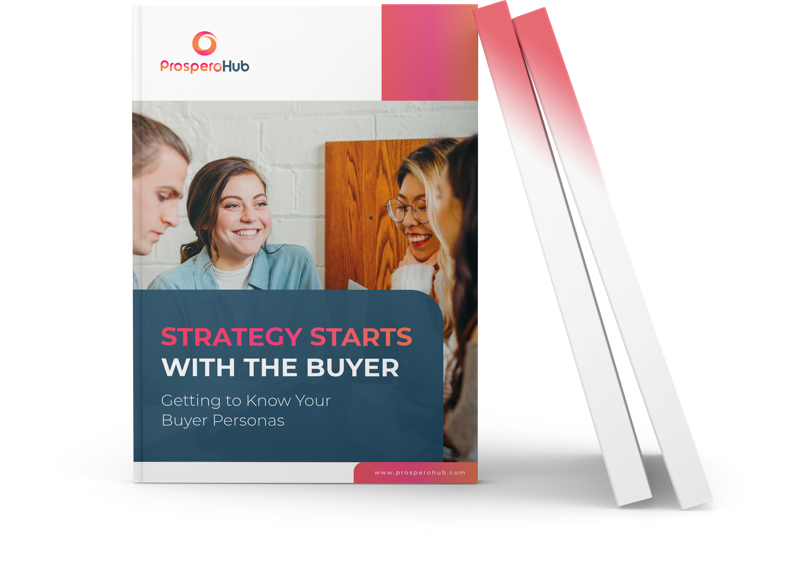 Strategy Starts with the Buyer landing page book image