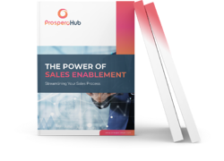 The Power of Sales Enablement landing page book image