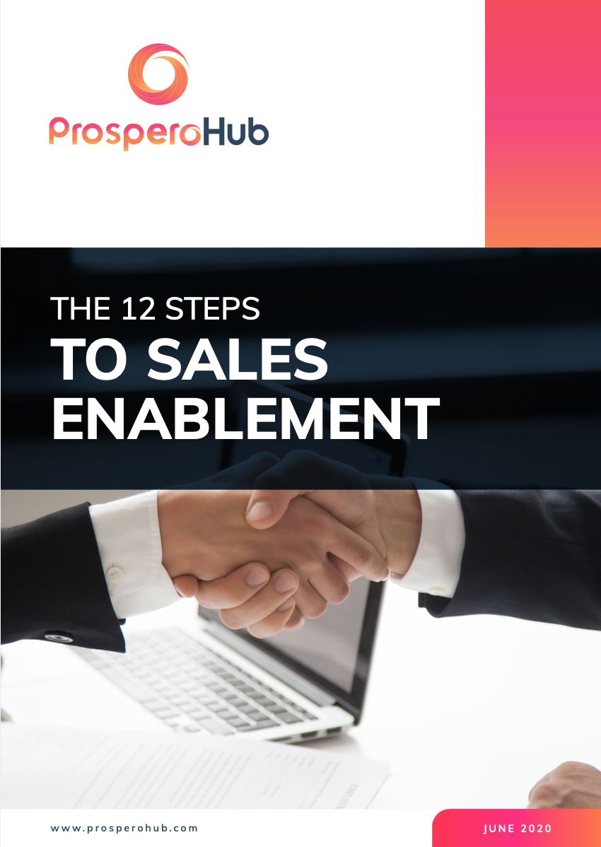 12 steps to sales enablement