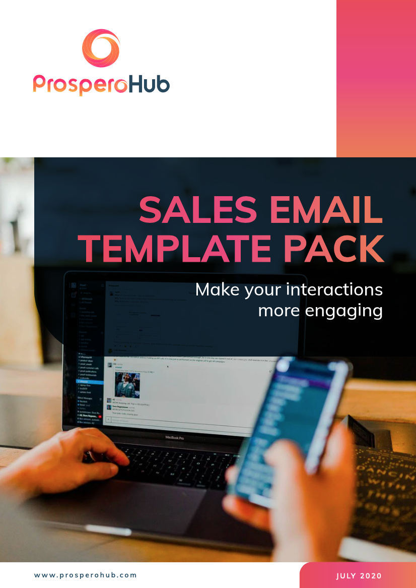Sales Email Template Pack