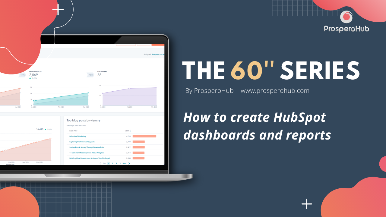 60 Second Series - Dashboards